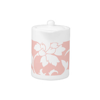 Oriental Flower - Rose Quartz Circular Pattern