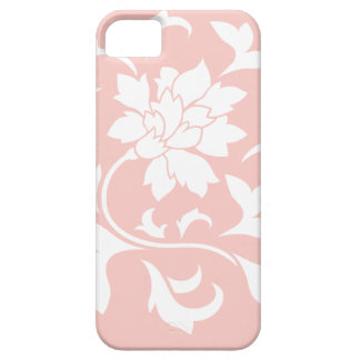 Oriental Flower - Rose Quartz Circular Pattern Case For The iPhone 5
