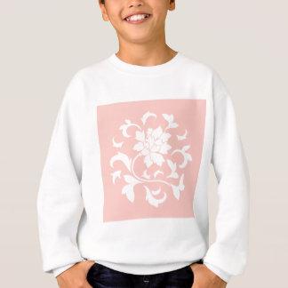 Oriental Flower - Rose Quartz Circular Pattern Sweatshirt
