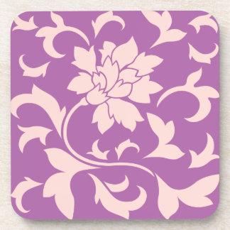 Oriental Flower - Rose Quartz & Radiant Orchid Coaster
