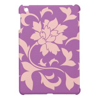 Oriental Flower - Rose Quartz & Radiant Orchid Cover For The iPad Mini