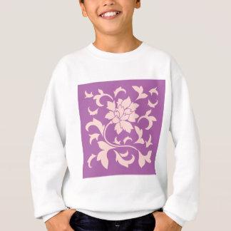 Oriental Flower - Rose Quartz & Radiant Orchid Sweatshirt