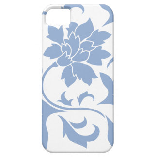 Oriental Flower - Serenity Blue iPhone 5 Case