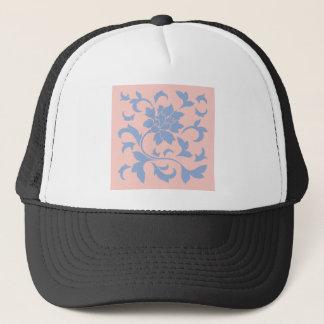 Oriental Flower - Serenity Blue & Rose Quartz Trucker Hat