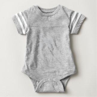Oriental Flower - Silver Baby Bodysuit