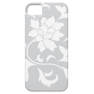 Oriental Flower - Silver Circular Pattern Case For The iPhone 5
