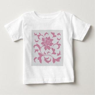 Oriental Flower - Silver Strawberry Baby T-Shirt