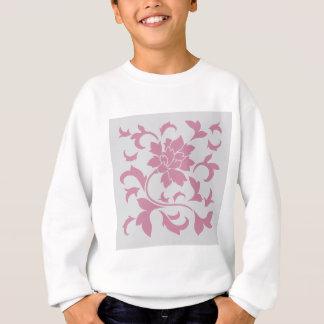 Oriental Flower - Silver Strawberry Sweatshirt