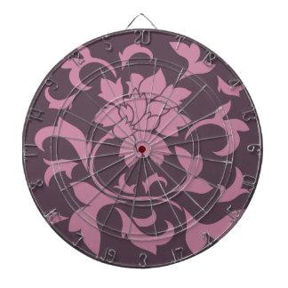 Oriental Flower - Strawberry Cherry Chocolate Dartboard