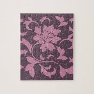Oriental Flower - Strawberry Cherry Chocolate Jigsaw Puzzle