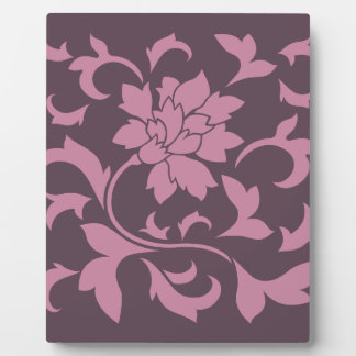 Oriental Flower - Strawberry Cherry Chocolate Plaque