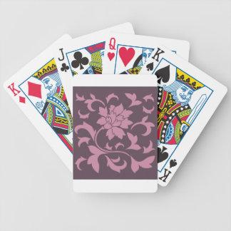 Oriental Flower - Strawberry Cherry Chocolate Poker Deck