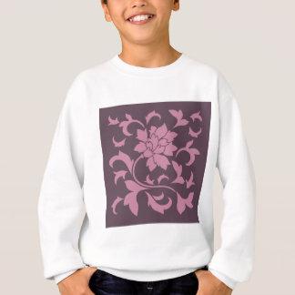 Oriental Flower - Strawberry Cherry Chocolate Sweatshirt