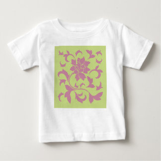 Oriental Flower - Strawberry & Daiquiri Green Lime Baby T-Shirt