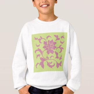 Oriental Flower - Strawberry & Daiquiri Green Lime Sweatshirt