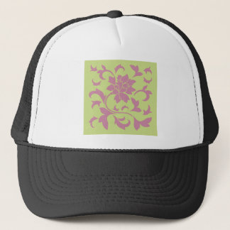 Oriental Flower - Strawberry & Daiquiri Green Lime Trucker Hat
