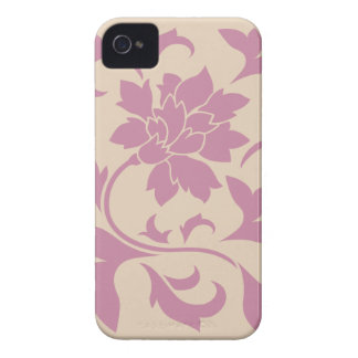 Oriental Flower - Strawberry Latte Case-Mate iPhone 4 Case