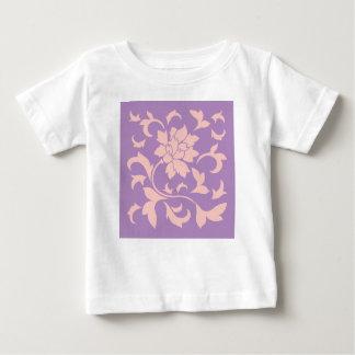 Oriental Flower - Strawberry Lilac Baby T-Shirt