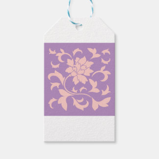 Oriental Flower - Strawberry Lilac Gift Tags