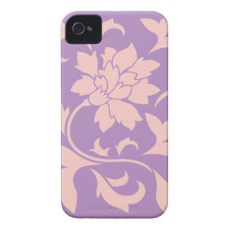 Oriental Flower - Strawberry Lilac iPhone 4 Case-Mate Cases