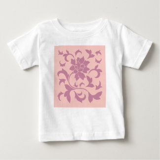 Oriental Flower - Strawberry & Rose Quartz Baby T-Shirt