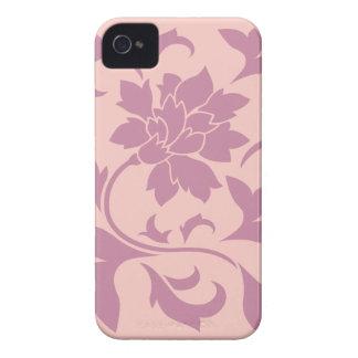 Oriental Flower - Strawberry & Rose Quartz iPhone 4 Cases