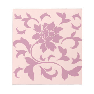 Oriental Flower - Strawberry & Rose Quartz Notepad