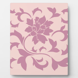 Oriental Flower - Strawberry & Rose Quartz Plaque