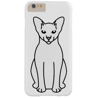Oriental Foreign White Cat Cartoon Barely There iPhone 6 Plus Case
