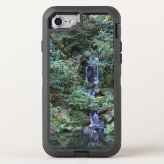Oriental Garden Waterfall OtterBox Defender iPhone 8/7 Case