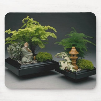 Oriental Gardens by tdgallery Mouse Pad
