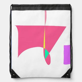 Oriental Guest Room Drawstring Bag