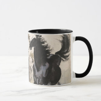 Oriental Horse Art Coffee Mug