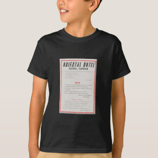 Oriental Hotel Rules T-Shirt