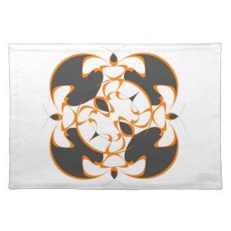 Oriental Inspired American MoJo Placemats