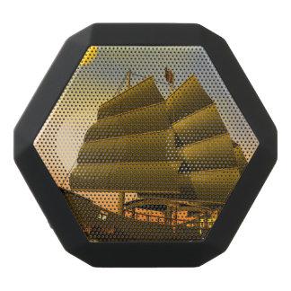 Oriental junk by sunset - 3D render Black Bluetooth Speaker