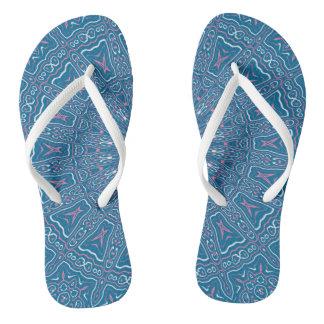 Oriental Kaleido 6 Flip Flops