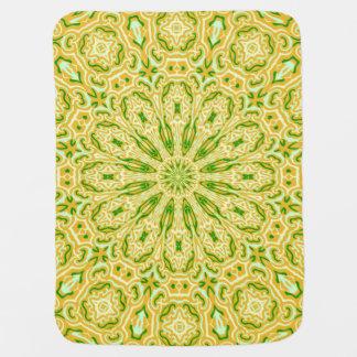 Oriental Kaleido 7 Baby Blanket