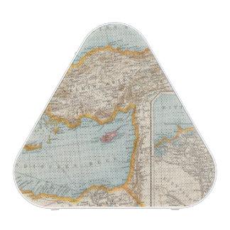 Oriental Mediterranean Map Bluetooth Speaker