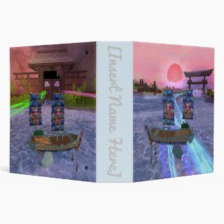 Oriental Mystical Scenery Named - Pirate101 Binder