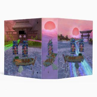 Oriental Mystical Scenery - Pirate101 Vinyl Binder