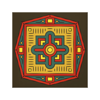 Oriental Ornament Canvas Print