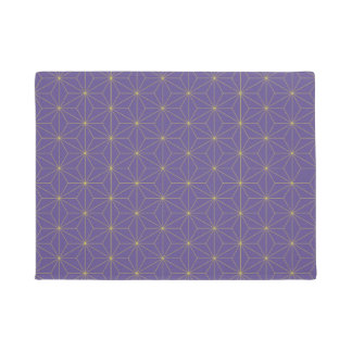 Oriental Pattern purple Doormat