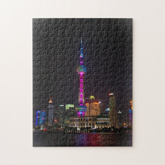 Oriental Pearl Tower - Shanghai, China Jigsaw Puzzle