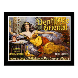 Oriental Perfume Paris France Postcard
