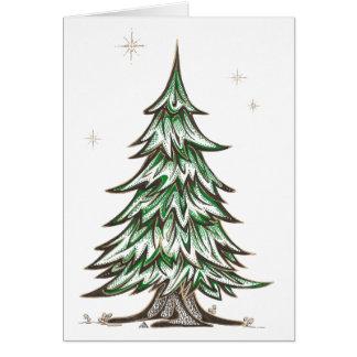 Oriental Pine Greeting Card