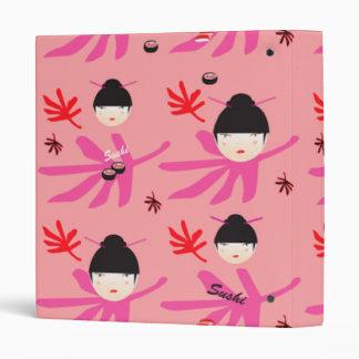 Oriental Pink Binder