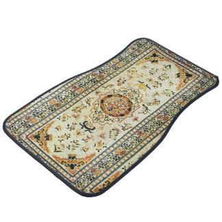 Oriental rug in light colours
