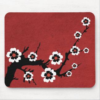 Oriental Sakura, Cherry Blossoms Mouse Pad