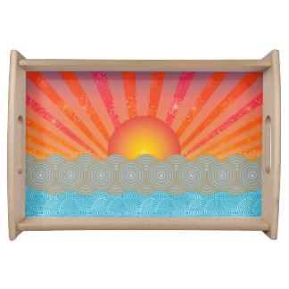 Oriental Seaview Tray